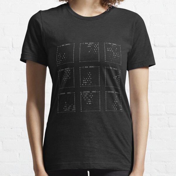 SSH fingerprints: Randomarts Essential T-Shirt