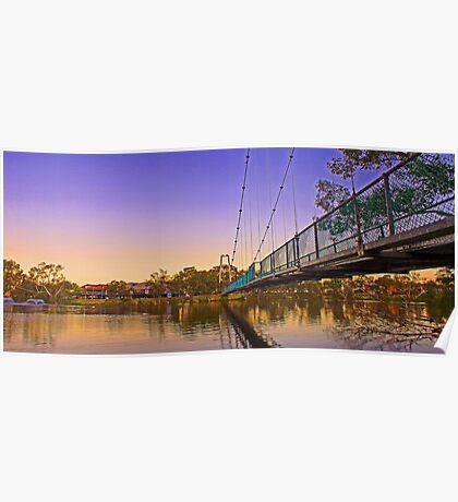 Northam Suspension Bridge - Western Australia  Poster