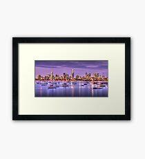 St. Kilda Harbour Framed Print
