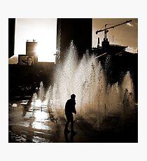 Blade Runner b/w  Photographic Print
