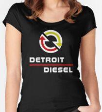 Detroit Diesel Women's Fitted Scoop T-Shirt