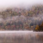 Mist on Loch Tay, Perthshire, Scotland by Cliff Williams