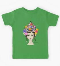 Floral She Kids Tee