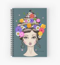 Floral She Spiral Notebook