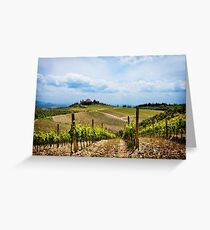 Sangiovese, Canaiolo or Merlot? Greeting Card