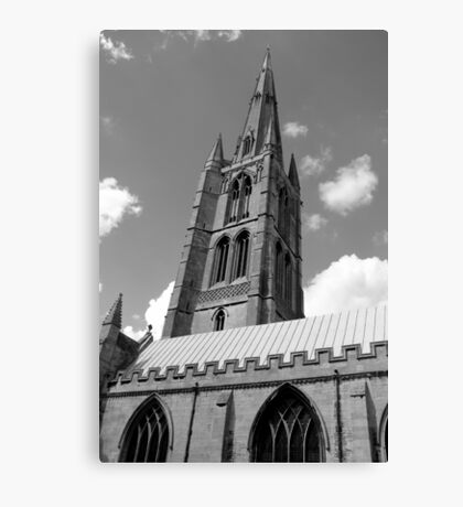 The Spire, St.Wulfram's Church Church, Grantham, England Canvas Print