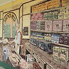 Mural - T & W Johnson - Grocer by Marilyn Harris