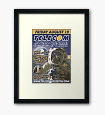 Telecom Modern Adventures EP Launch Melbourne 2006 10 07 Framed Print