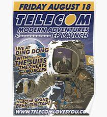 Telecom Modern Adventures EP Launch Melbourne 2006 10 07 Poster