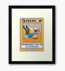 Telecom July Wednesday Residency at The Tote 2006: July 26 Framed Print