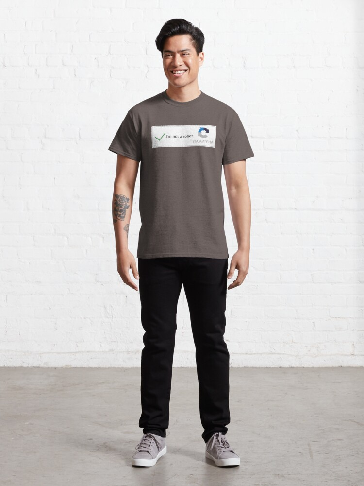 Alternate view of I'm not a robot Classic T-Shirt