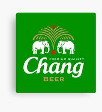Chang Beer Thailand Canvas Print