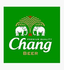 Chang Beer Thailand Photographic Print