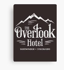 The Overlook Hotel T-Shirt (worn look) Canvas Print