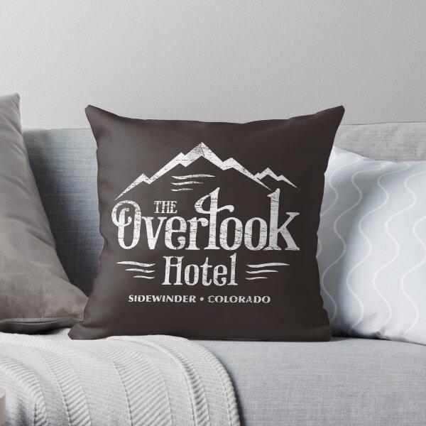 The Overlook Hotel T-Shirt (worn look) Throw Pillow