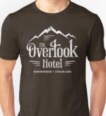 Camiseta ajustada La camiseta del hotel Overlook (apariencia desgastada)