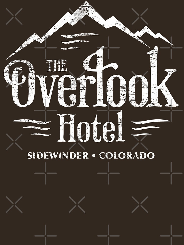 La camiseta del hotel Overlook (apariencia desgastada) de KRDesign