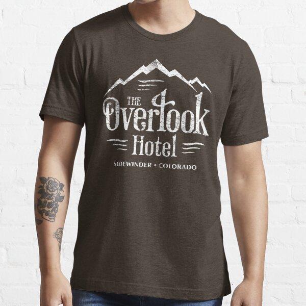 La camiseta del hotel Overlook (apariencia desgastada) Camiseta esencial