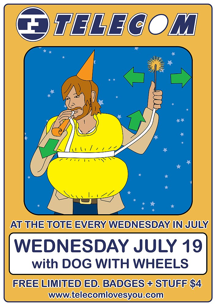 Telecom July Wednesday Residency at The Tote 2006: July 19  by telecom
