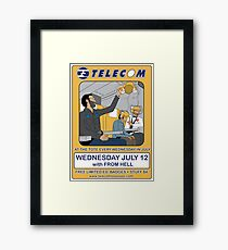 Telecom July Wednesday Residency at The Tote 2006: July 12  Framed Print