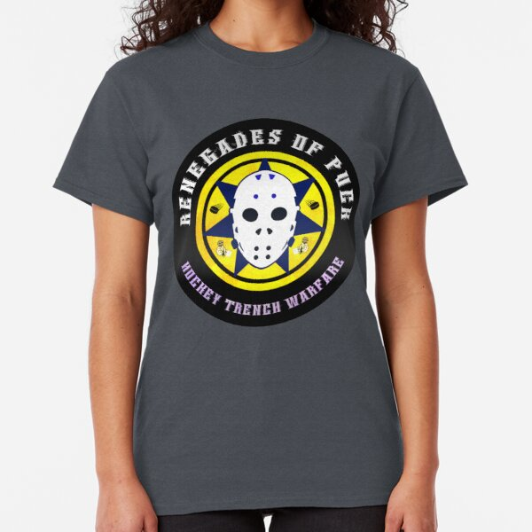 Renegades of Puck: Hockey Trench Warfare Classic T-Shirt