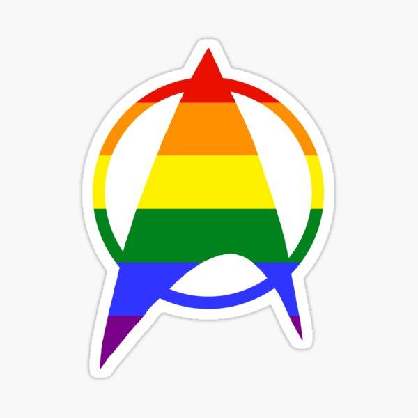 Gay/Queer Starfleet Pride Sticker