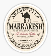 Marrakesh camel Sticker