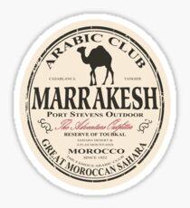 Marrakesh camel Sticker
