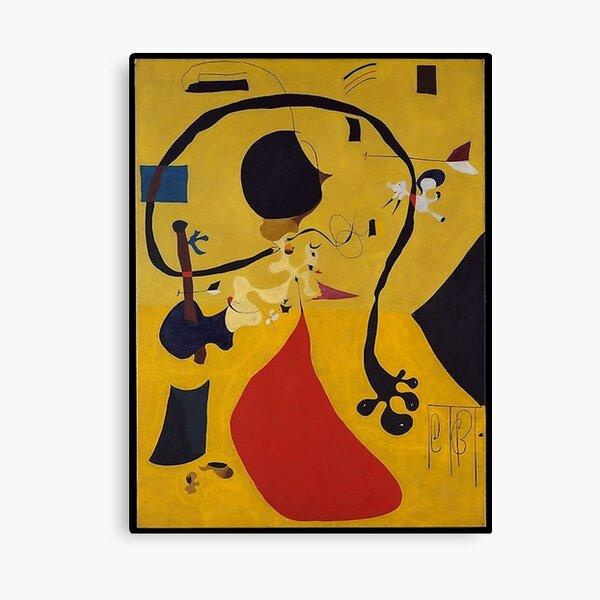 Intérieur néerlandais III Joan Miro Impression sur toile