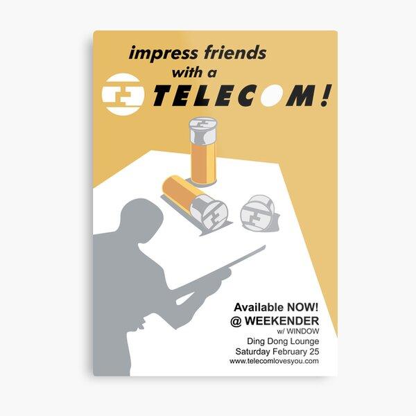 Telecom at Weekender 2006 02 25 Metal Print