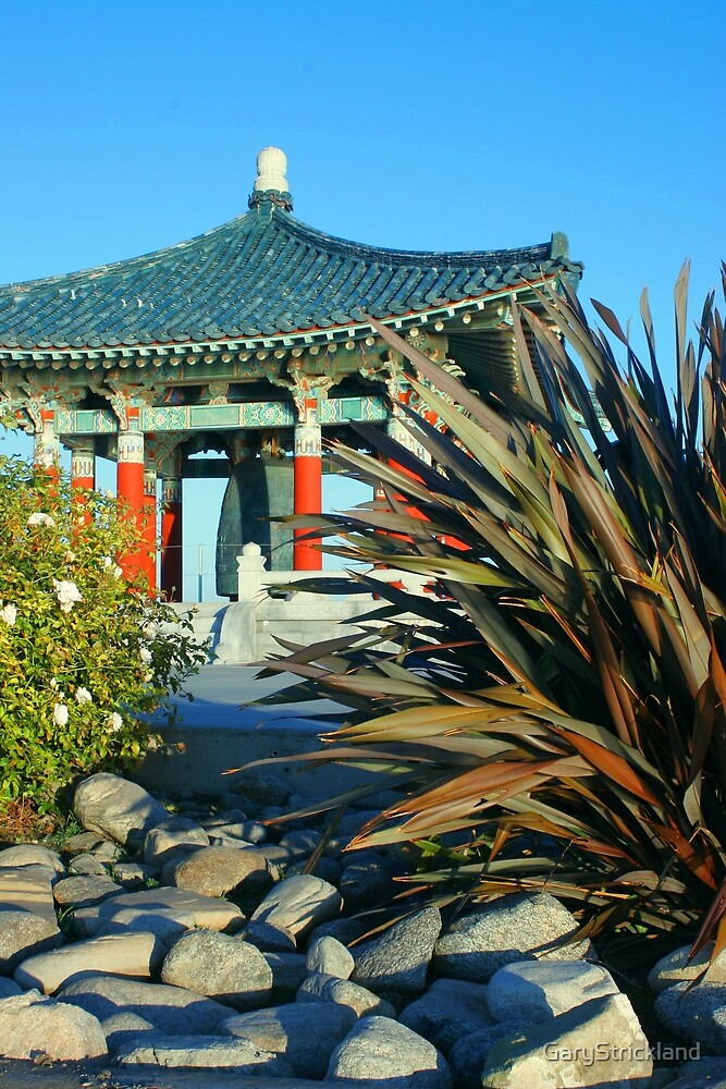 Korean Buddhist Bell--gift to US by GaryStrickland