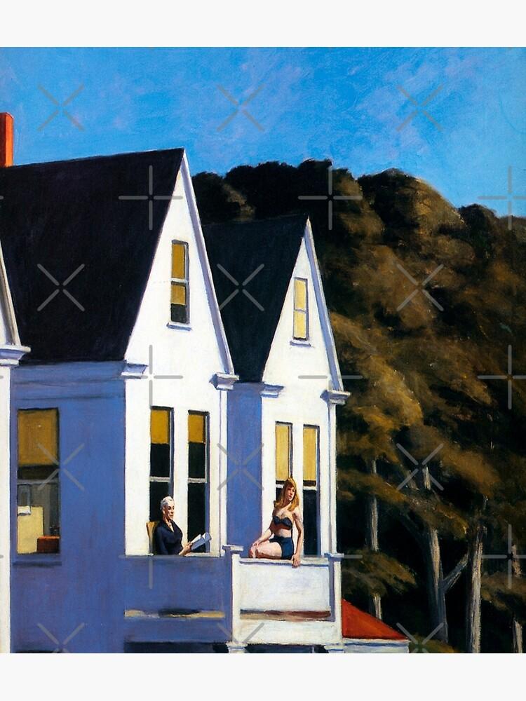 Second Story Sunlight-Edward Hopper by LexBauer