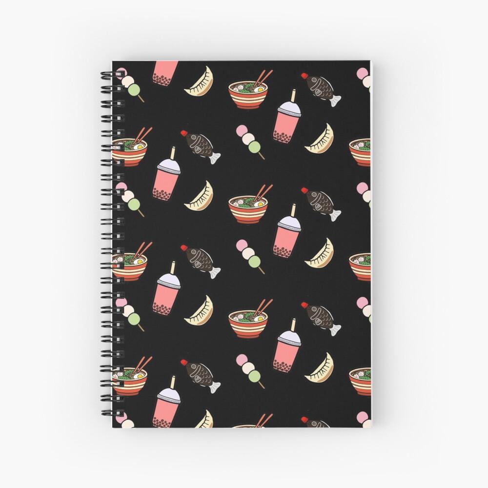 Japanese Food & Drink Spiral Notebook
