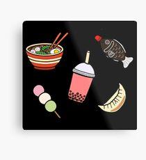Japanese Food & Drink Metal Print