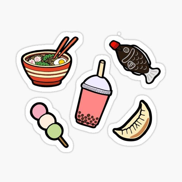 Japanese Food & Drink Sticker