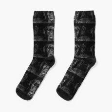 Schwarzer Labrador-Apportierhund Socken