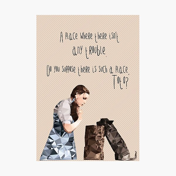Dorothy and Toto's Place // pastel colours Photographic Print