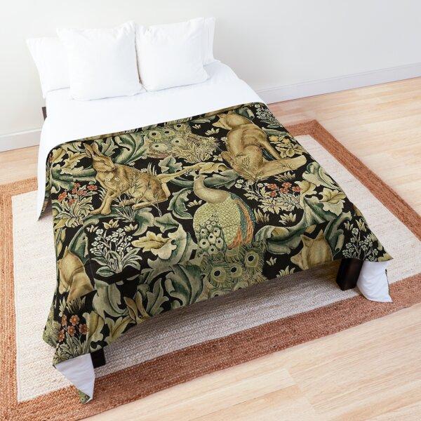 William Morris forest fabric Comforter