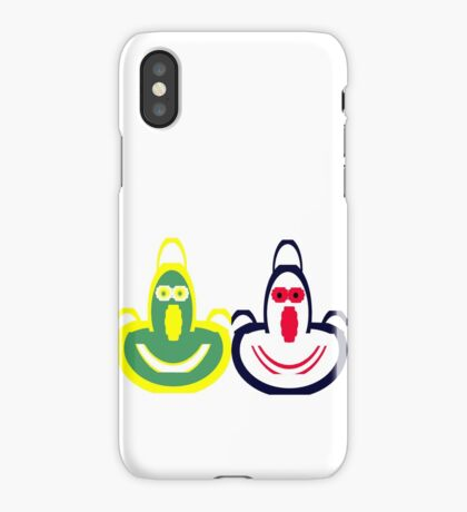 Funny Face Aprons iPhone Case/Skin