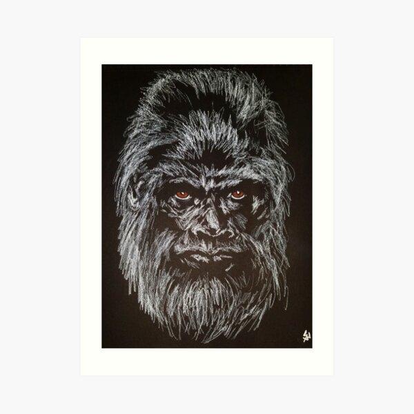 Chensapa (Black Tree)  Art Print