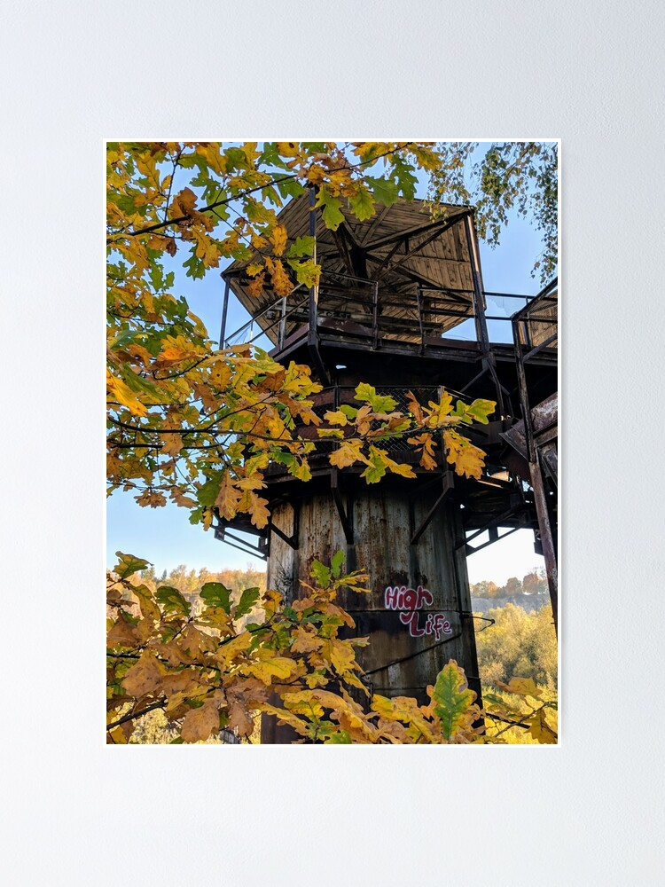 Alternate view of Autumn Urbex in Poland - Abandoned Poster