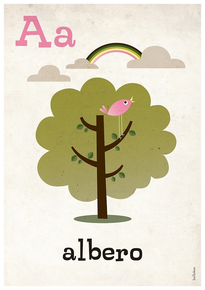 A is for Albero by hellobea