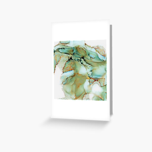 Skeleton earth Greeting Card