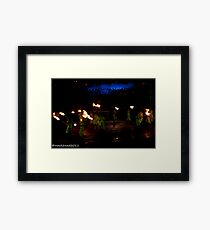 2011 FIREDANCE 114 Framed Print