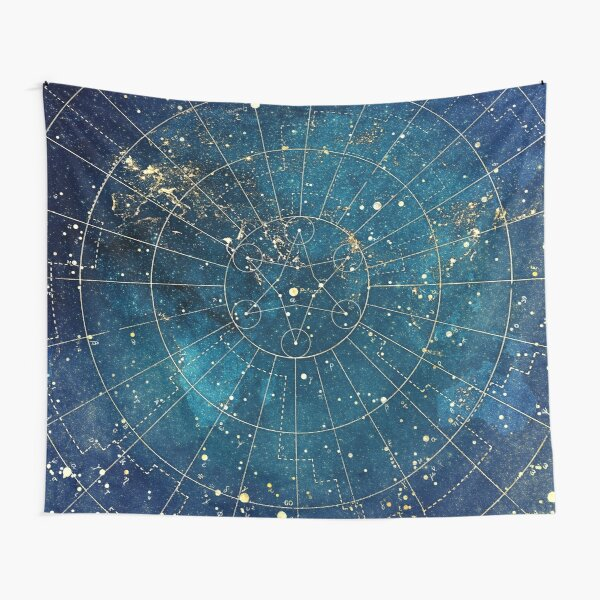 Star Map :: City Lights Tapestry