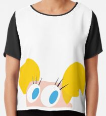 Dee Dee, ballerina character , dexters sister on Cartoon Network Chiffon Top