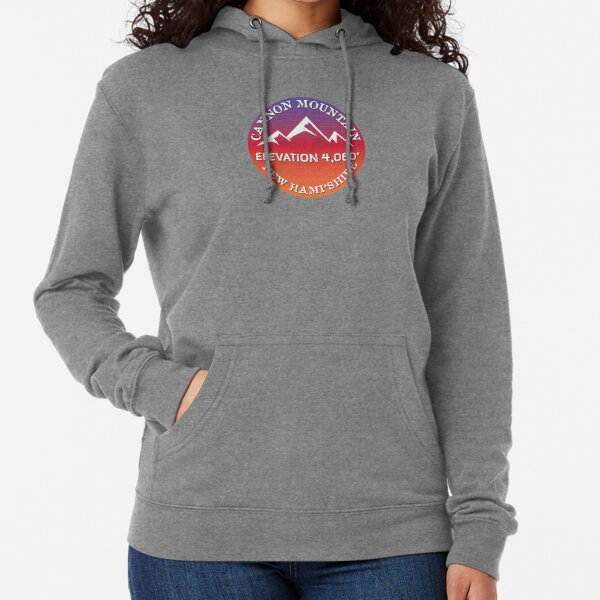 Cannon Mountain New Hampshire Ski Snowboard Skiing Loon Mountain  Hiking Gift Ideas Lightweight Hoodie