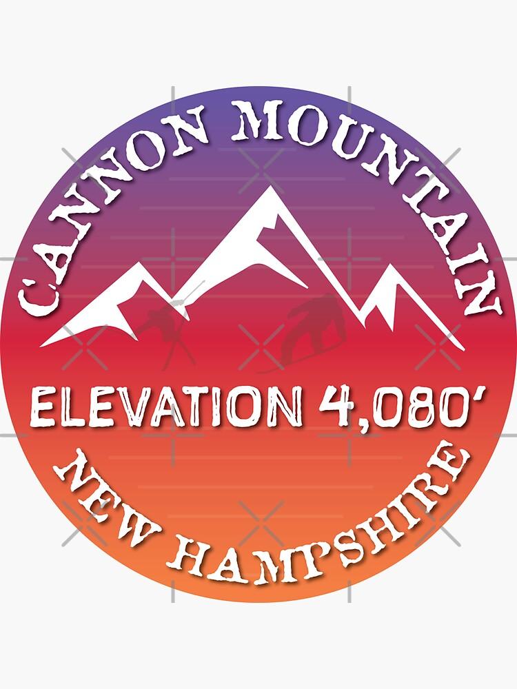 Cannon Mountain New Hampshire Ski Snowboard Skiing Loon Mountain  Hiking Gift Ideas by letourneau41