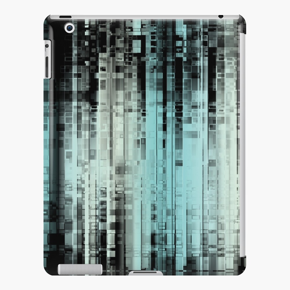 Geometric Turquoise Pattern iPad Case & Skin