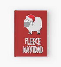 Fleece Navidad Hardcover Journal